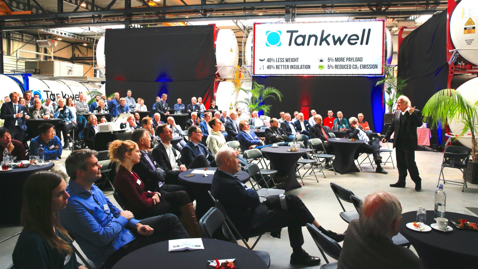 Opening of new Tankwell facility