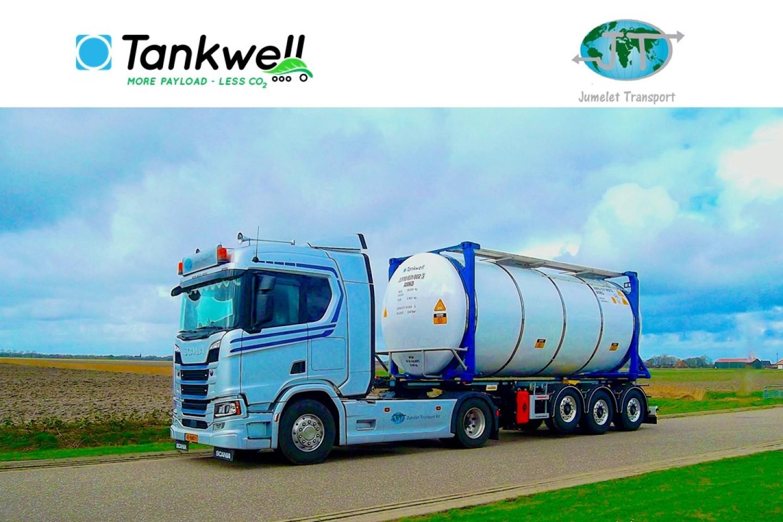 Tankwell congratulates Jumelet Transport