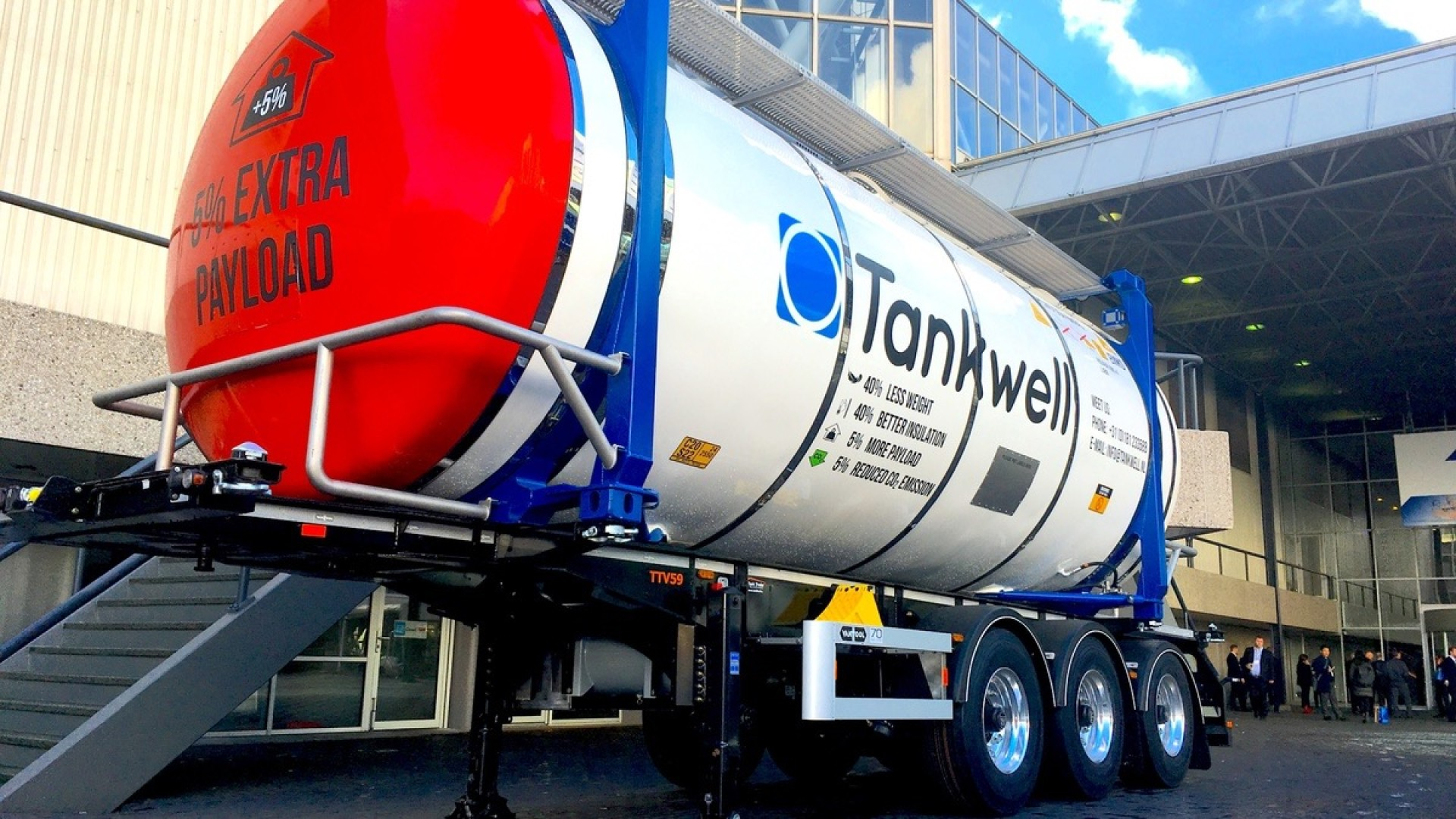 Tankwell at Intermodal Europe in Amsterdam