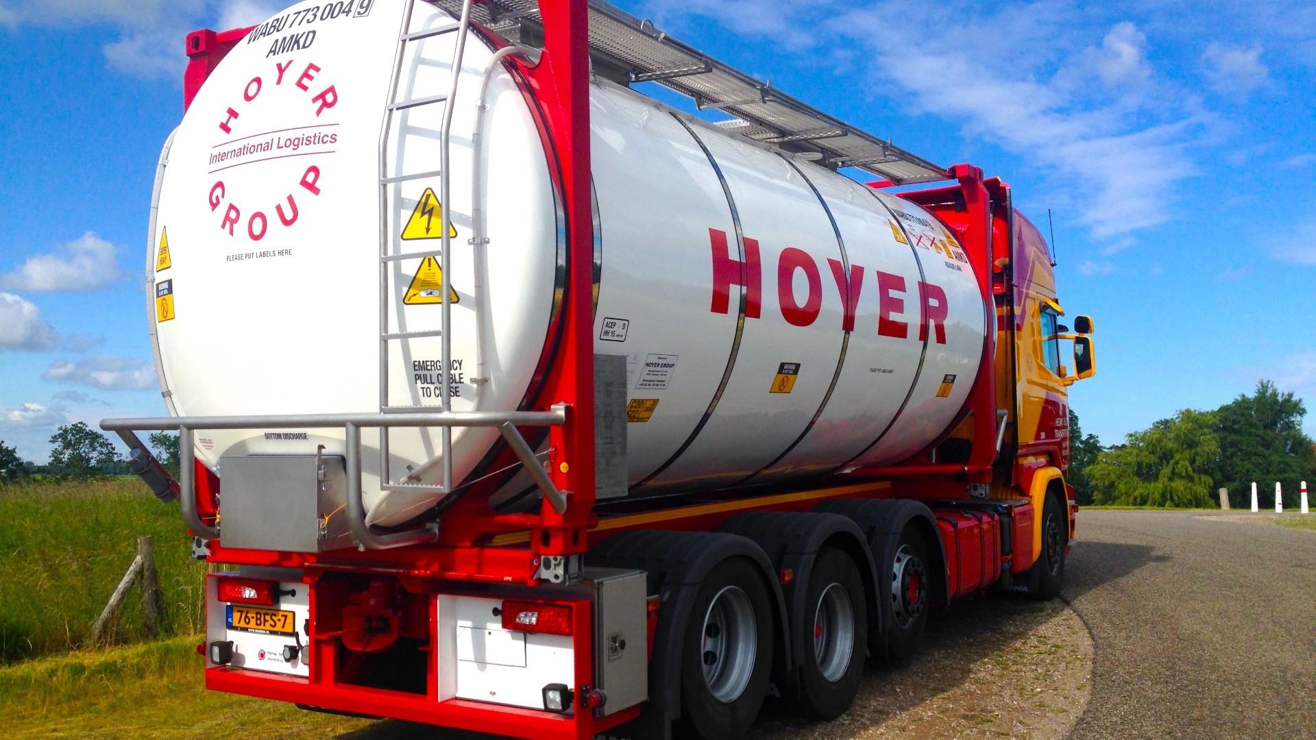 Hoyer wins BASF Supplier award 2015