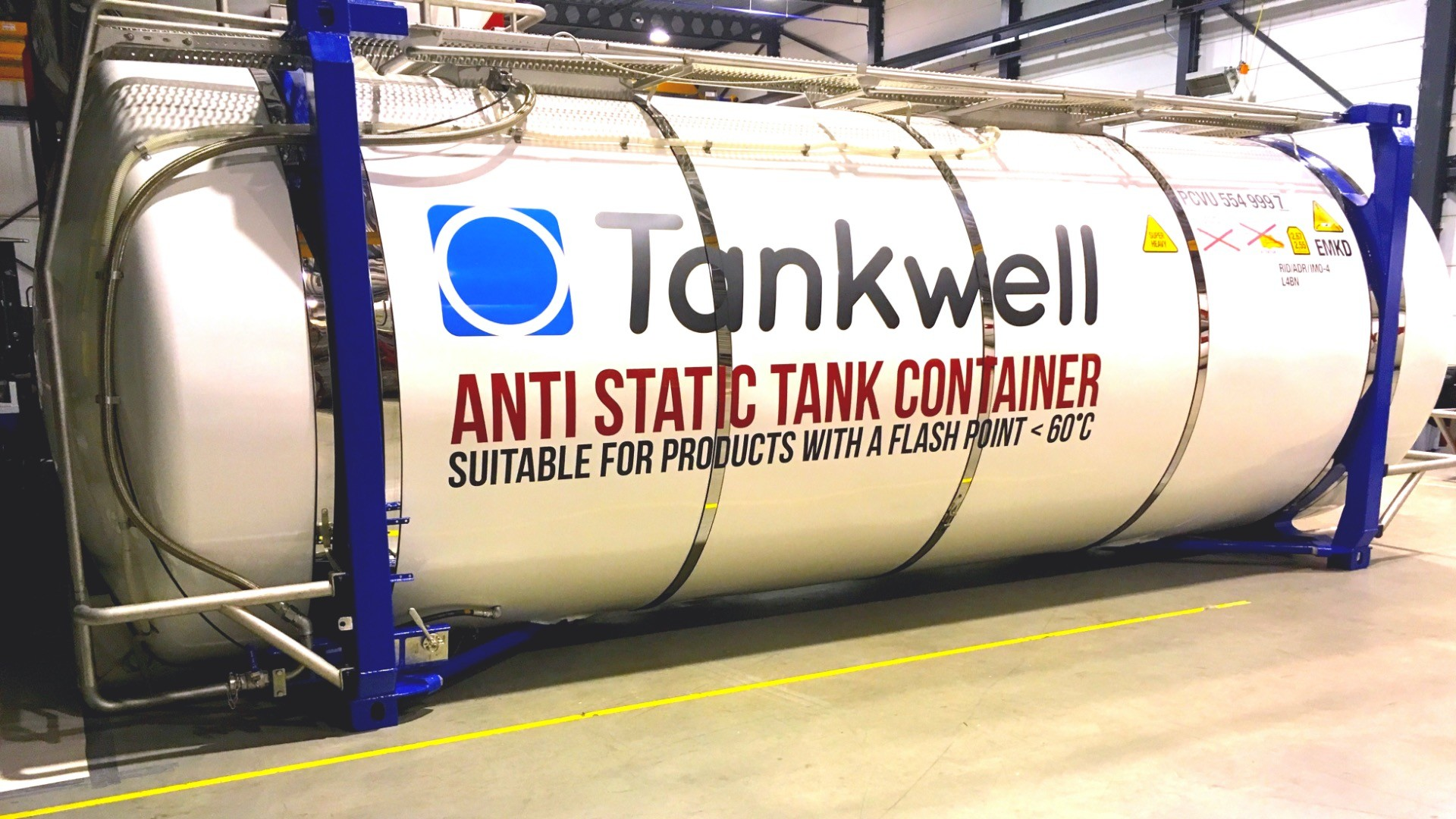 Tankwell introduces anti-static tank container